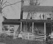 The Dearing Homeplace, approximately 1886.