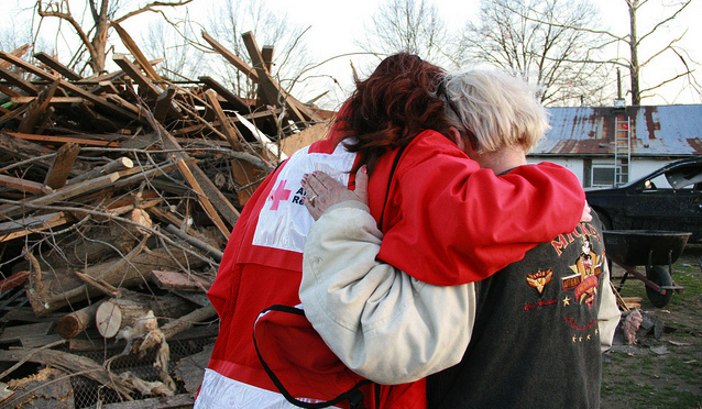 Photo used with permission from the American Red Cross