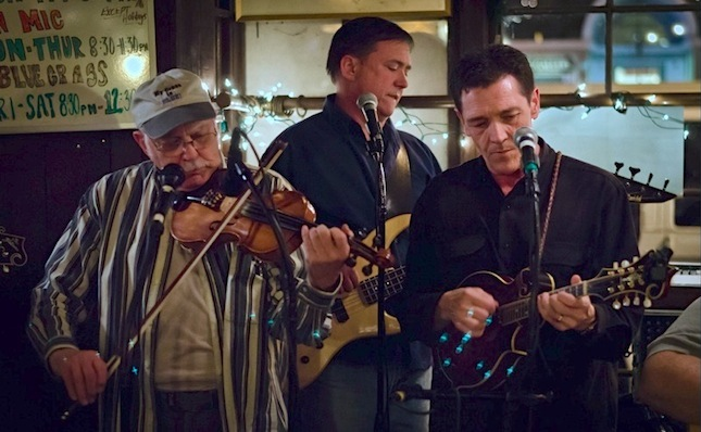 Satyr Hill Bluegrass Band at Tiffany Tavern. Photo provided by Steve Petrucelli.