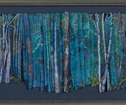 "A section of ""Ghost Trees"" by Karen Tunnell."