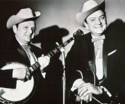 Carter and Ralph Stanley. Image provided by Morris Public Relations.