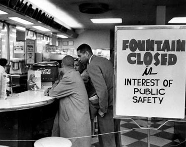 Walgreens lunch counter during Nashville sit in.
