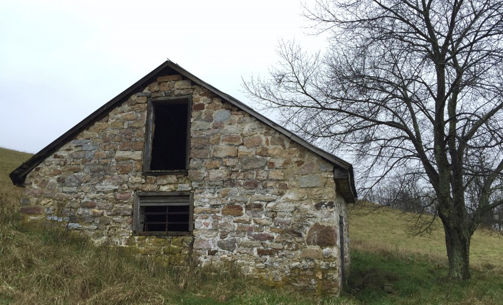 The oldest structure at Sweet Springs, the jail predates the resort, dating to the 1790s.