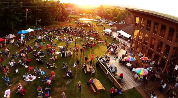Brew Sky Festival 2015 in West Virginia's Canaan Valley. Photo courtesy of Highland Outdoors.