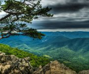 View from the Blue Ridge Parkway, which benefits from Appalachian Regional Commission funding. Photo courtesy of Bob Mical on Flickr.