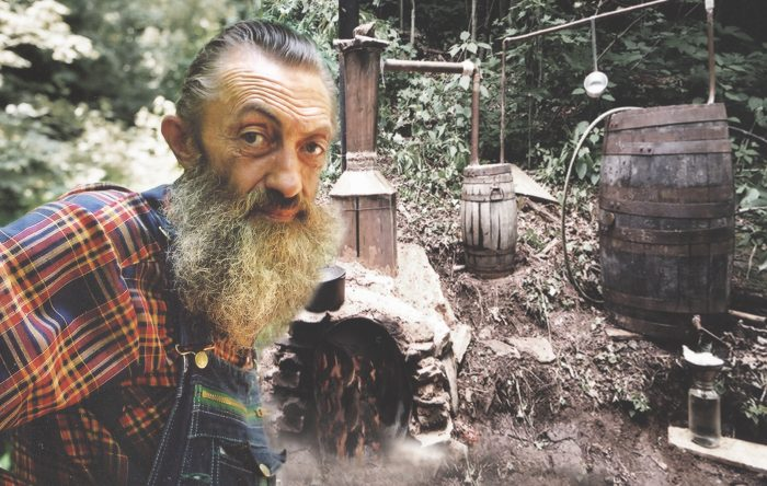 """Famous moonshiner Popcorn Sutton called his way of talking """"hillbilly style."""" Photo courtesy of Neal Hutcheson on Flickr."""